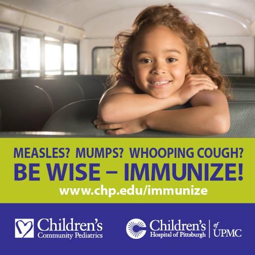 UPMC Children's Hospital of Pittsburgh  Pertussis Vaccines